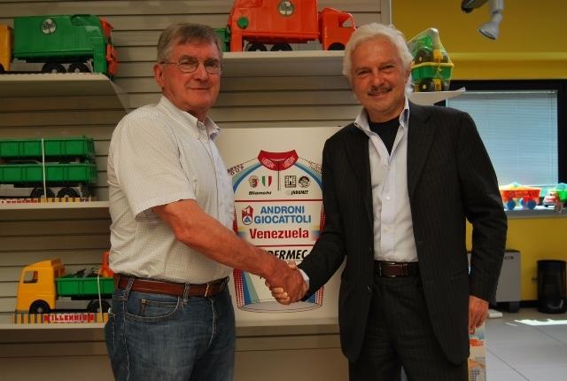 Джанни Савио и Марио Андрони, foto Ufficio Stampa Team Androni