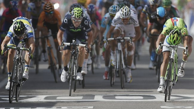 Саймон Герранс, 3-й этап Тур де Франс-2013, photo AP
