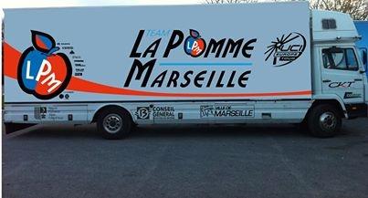 Кража велосипедов у команды Vélo Club La Pomme Marseille