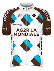 Команды ПроТура 2014: AG2R La Mondiale (ALM) - FRA
