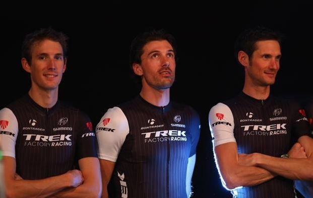 Trek Factory Racing, Энди Шлек, Фрэнк Шлек, Фабиан Канчеллара. Photo © Bryn Lennon/Getty Images