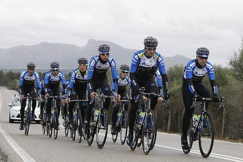 NetApp – Endura. Photo © Team NetApp-Endura