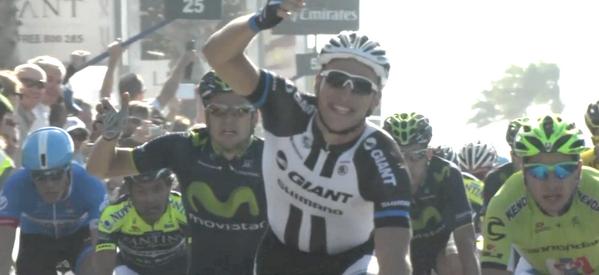 Марсель Киттель - победитель второго этапа Тура Дубая-2014