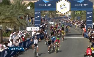 Марсель Киттель - победитель третьего этапа Тура Дубая-2014