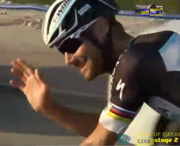Том Боонен - победитель второго этапа Тур Катара-2014