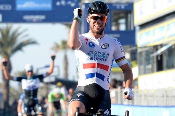 Марк Кэвендиш, фото (с) Tirreno-Adriatico