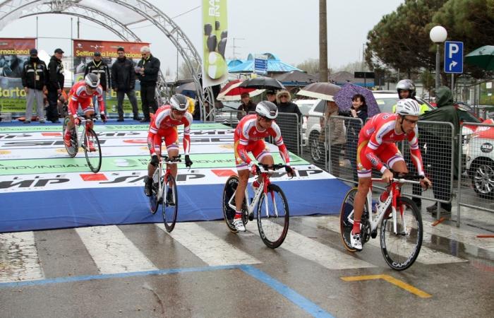 «РусВело» - призер этапа многодневной гонки Coppi e Bartali