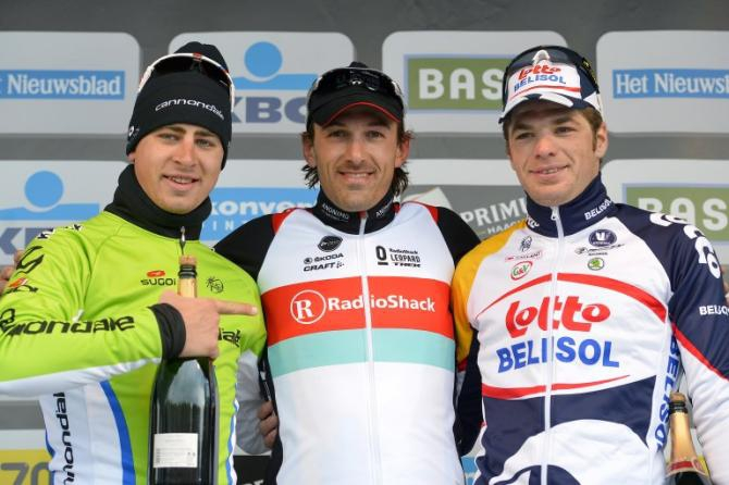 Тур Фландрии-2013, подиум. Photo: © AFP