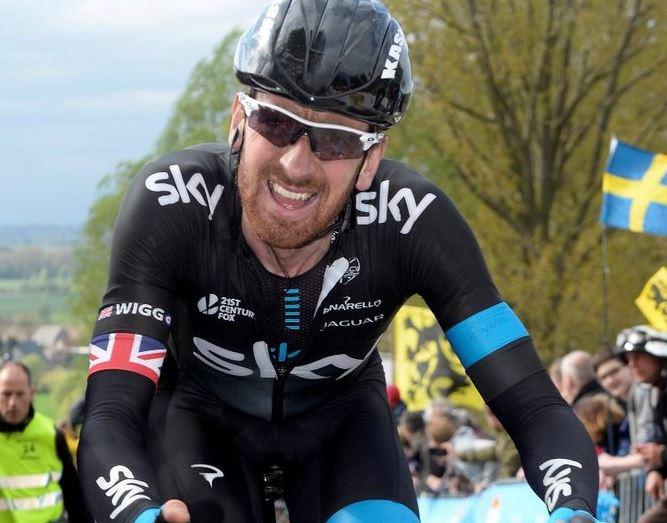 Брэдли Уиггинс на Туре Фландрии-2014, photo (c) Team Sky
