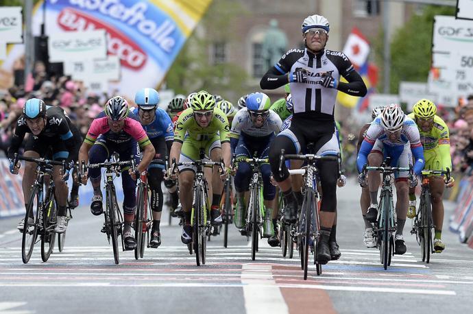 Участники Джиро-2014 о 2-м этапе