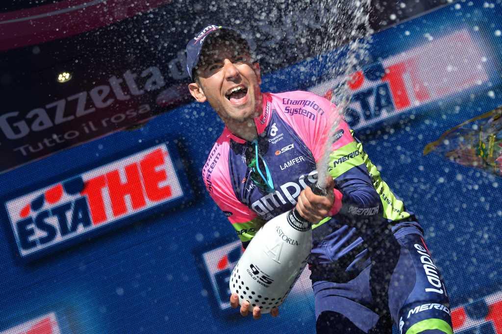 """Диего Улисси: """"Я хотел взять победу на 5-м этапе Джиро"""""""