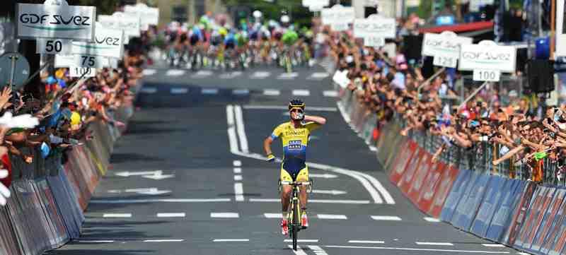Австралиец Майкл Роджерс побеждает на 11 этапе Джиро д'Италия-2014