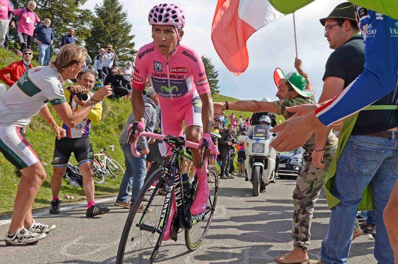 Участники Джиро-2014 о 19-м этапе