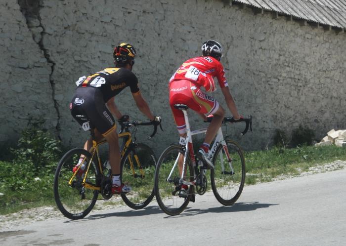 Ильнур Закарин выходит в лидеры «Тура Азербайджана»