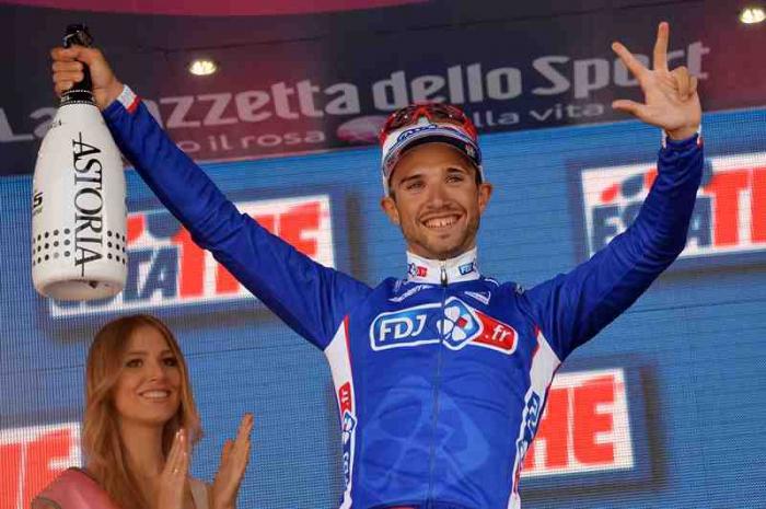 Хет-трик Насэра Буанни (FDJ) на Джиро д'Италия-2014