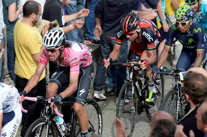 Участники Джиро д'Италия-2014 о 14 этапе