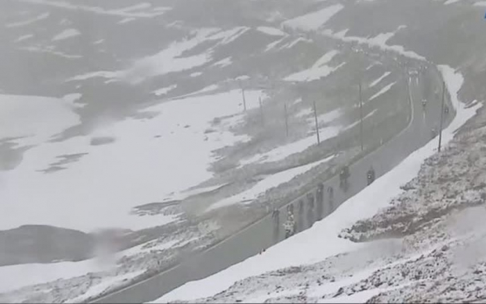 Джиро д'Италия-2014. Полемика о нейтрализации спуска со Стельвио