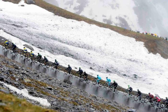 Участники Джиро д'Италия-2014 о 16-м этапе