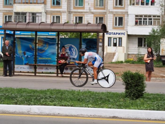 Чемпионат Азии по велоспорту на шоссе в городе Караганда. Разделка - Юниоры