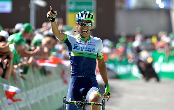 Эстебан Чавес, photo (c) Orica-GreenEdge