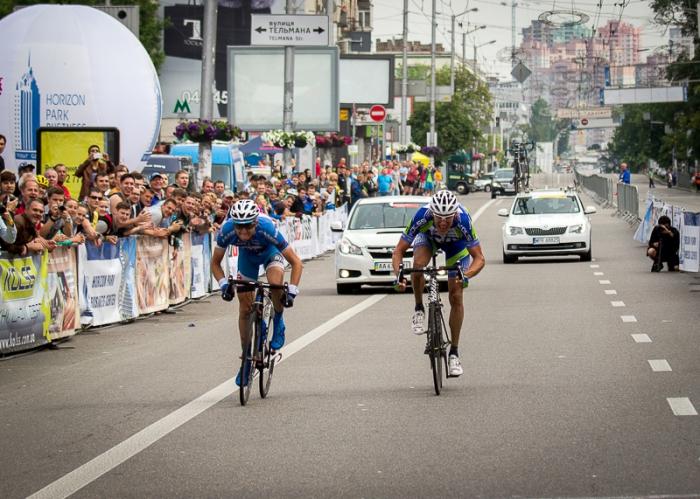 Велогонка в День Киева - 60 лет традиции