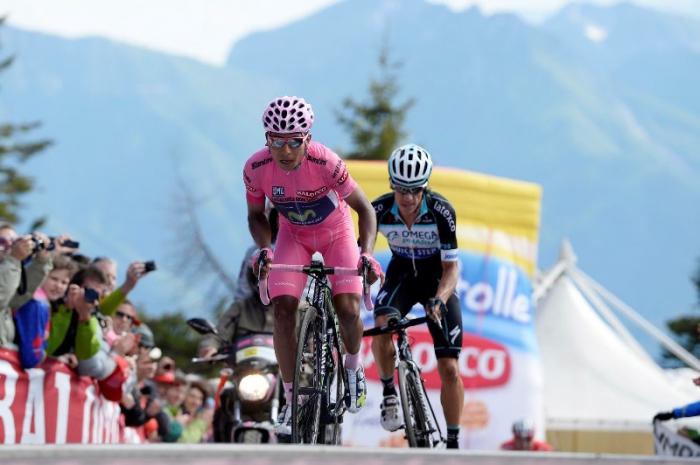 Участники Джиро д'Италия-2014 о 20-м этапе