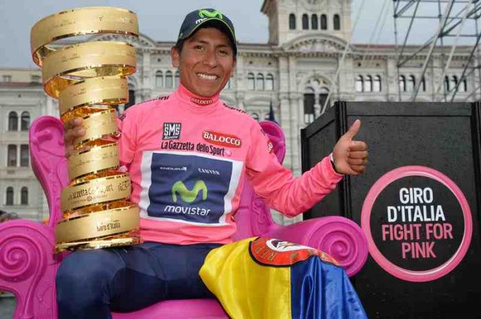 Триумф гонщиков Колумбии на Джиро д'Италия-2014