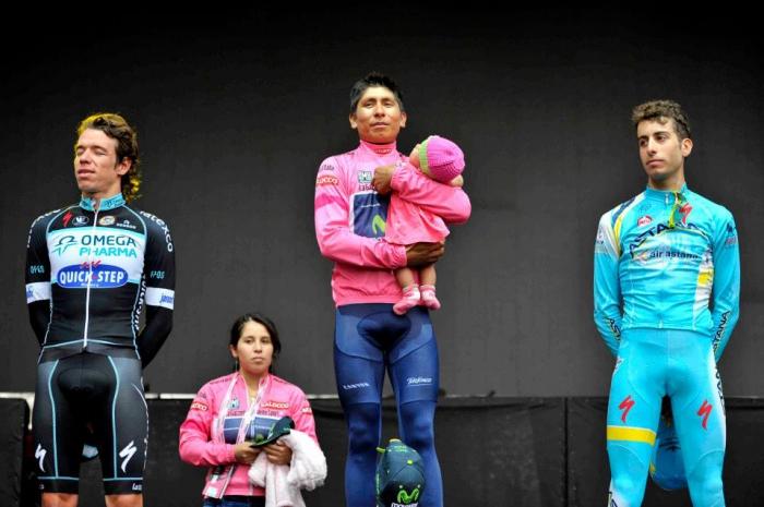 Фабио Ару – лучший итальянец в общем зачёте Джиро д'Италия-2014