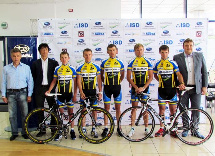 Новая форма – новые победы! Лучшие гонщики Донецкой области одеты в эксклюзивные веломайки!