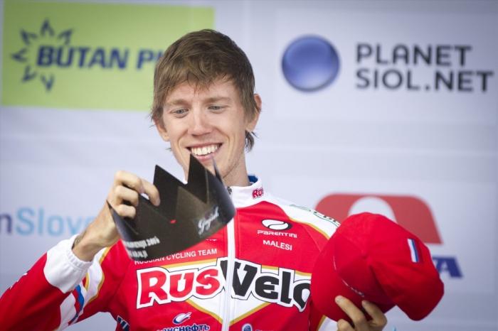 Ильнур Закарин выходит на второе место в общем зачете «Тура Словении»