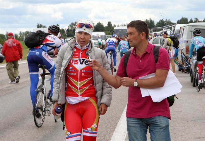 Татьяна Антошина - чемпионка страны в раздельном старте