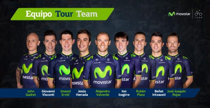 Команда Movistar: цель - подиум Тур де Франс-2014