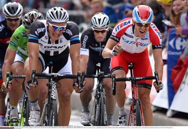 Хет-трик Марселя Киттеля на Тур де Франс-2014