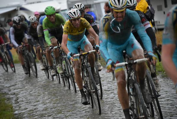 Винченцо Нибали (Astana): «Я доволен итогами 5 этапа Тур де Франс 2014»