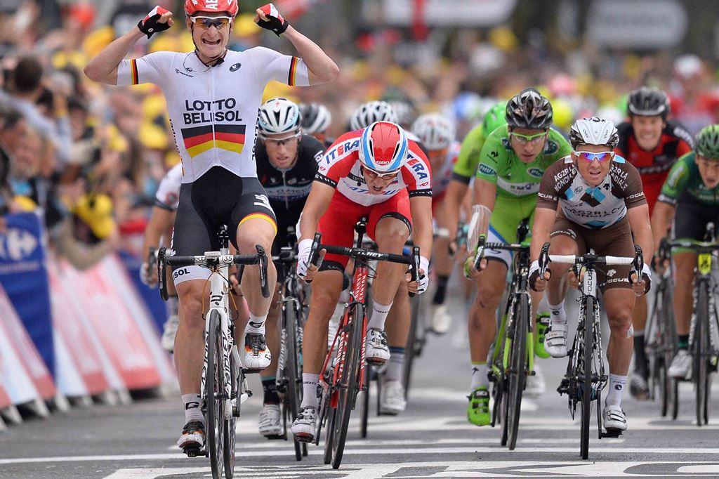 Андре Грайпель, Александр Кристофф, 6-й этап Тур де Франс-2014, фото (@Tim De Waele)