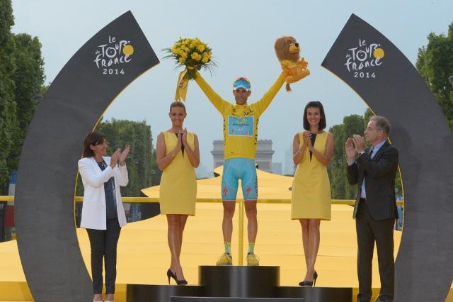 Винченцо Нибали - победитель Тур де Франс-2014