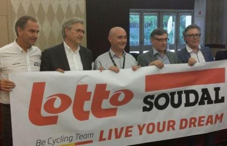 Новый со-спонсор бельгийской команды Lotto, Photo (c) lottobelisol.be