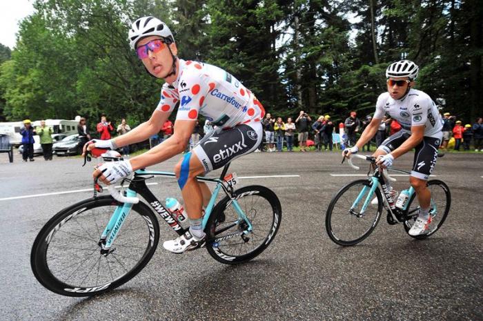 Тони Мартин и Михал Квятковски: парная гонка на 10 этапе Тур де Франс 2014