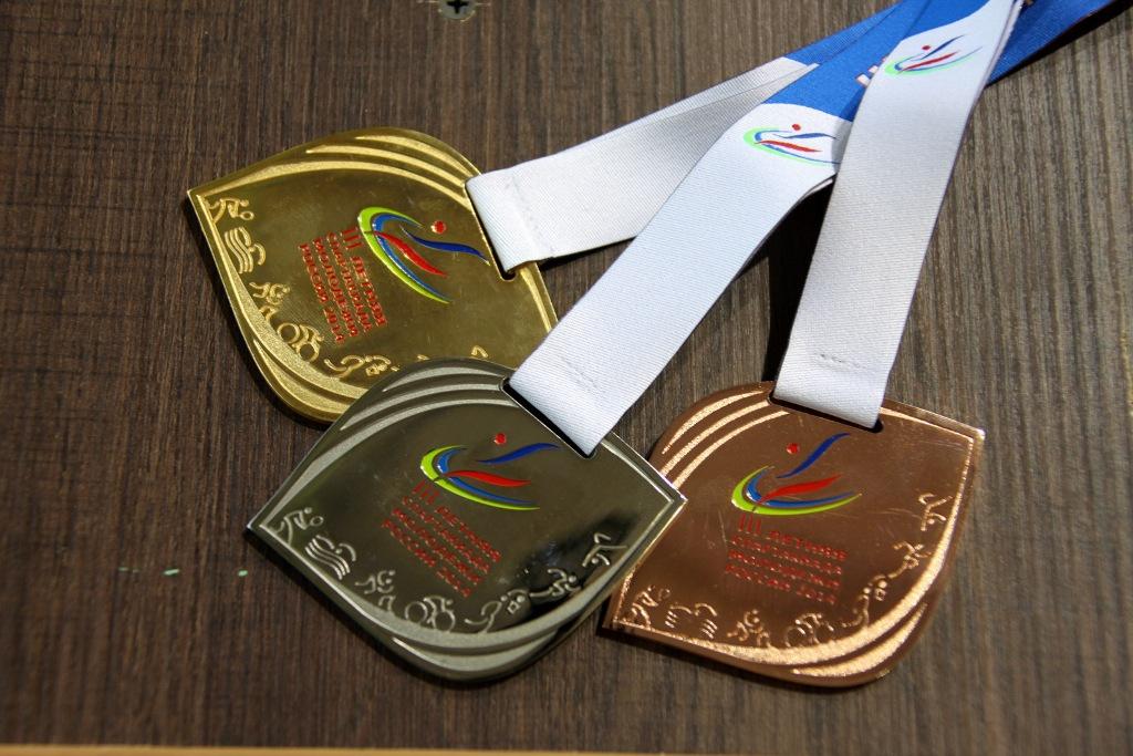 Медали III летней Спартакиады молодежи России-2014 по велоспорту на треке