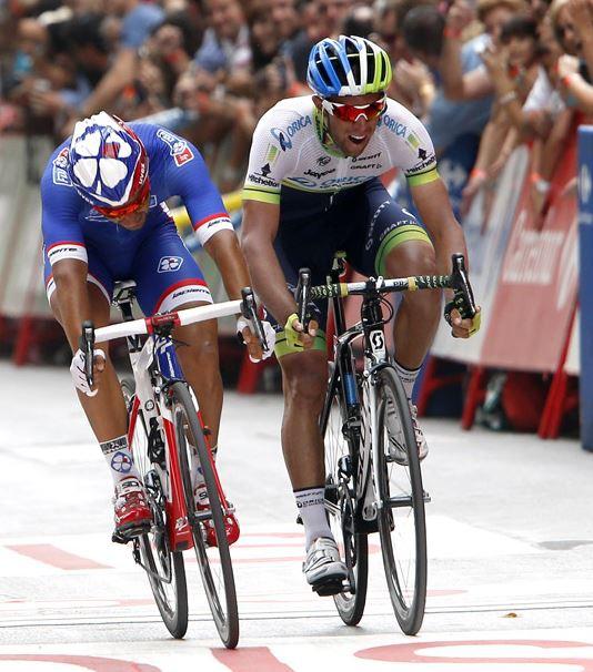 Насэр Буанни, Майкл Мэттьюс, Photo © Vuelta a España