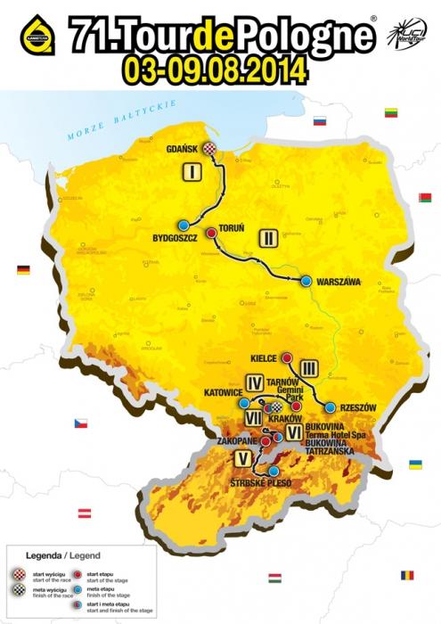 Тур Польши 2014. Превью