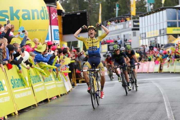 Рафал Майка - победа польского гонщика на этапе Тура Польши