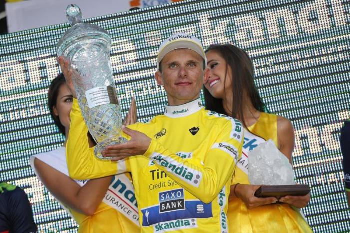 Рафал Майка (Tinkoff-Saxo) - победитель 71-го выпуска Тура Польши