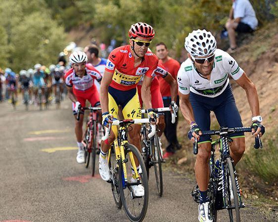 Альберто Контадор, Алехандро Вальверде, Photo © Vuelta a España