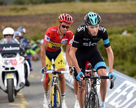 Крис Фрум, Альберто Контадор, Photo © Vuelta a España