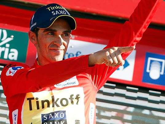 Альберто Контадор, Photo © Vuelta a España
