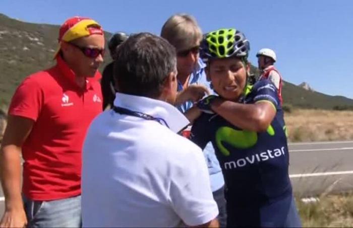 Наиро Кинтана сошёл с Вуэльты Испании-2014