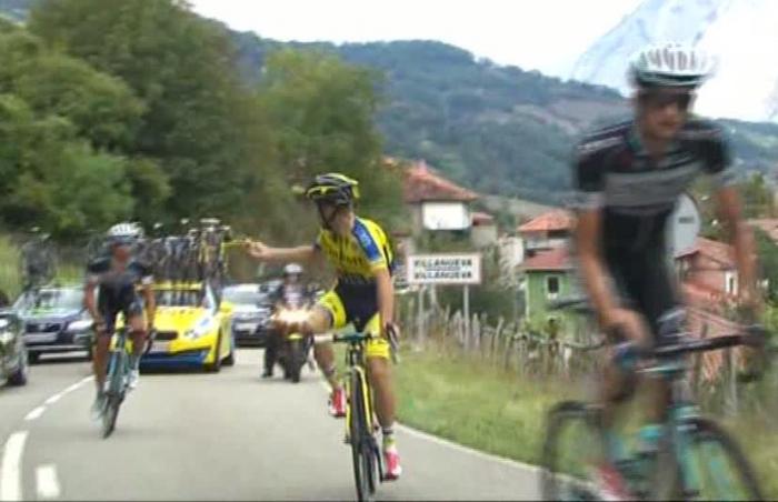 Альберто Контадор – победитель 16 этапа Вуэльты Испании-2014