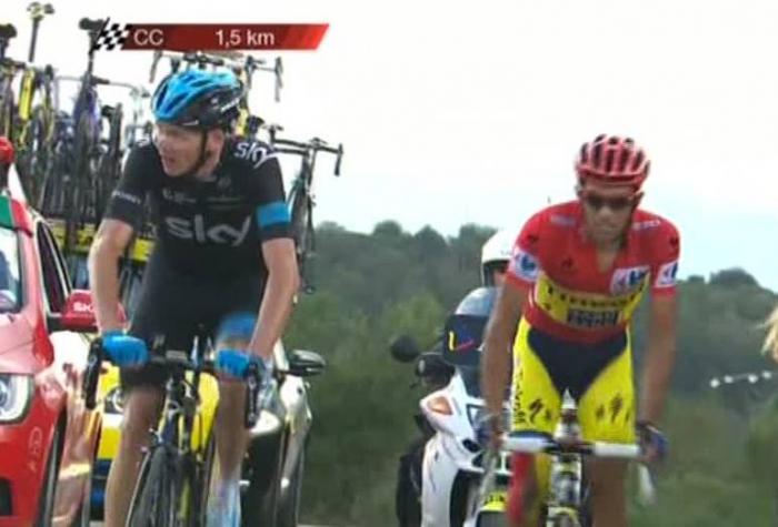 Альберто Контадор – победитель 20 этапа Вуэльты Испании-2014