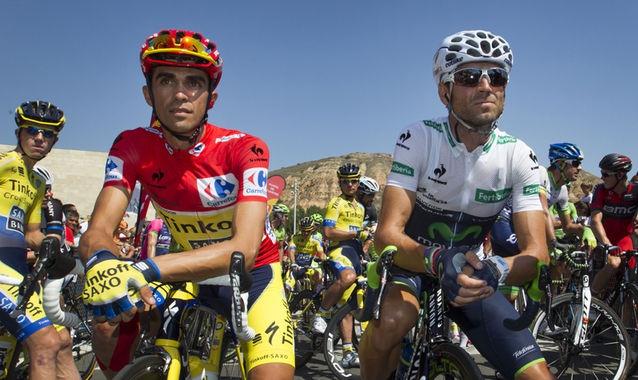 Борьба Контадора и Вальверде за победу в итоговом рейтинге Мирового тура